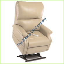 Load image into Gallery viewer, Pride Lc-525Is Mushroom Lexis Vinyl Reclining Lift Chair