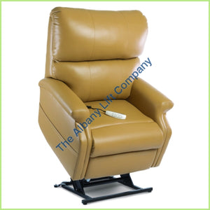 Pride Lc-525Is Pecan Ultraleather Reclining Lift Chair