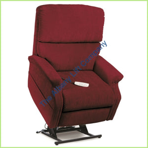 Pride Lc-525Is Red Crypton Reclining Lift Chair