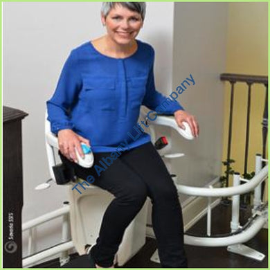 Savaria Stairfriend Custom Engineered Curved Stairlift