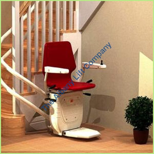Stannah Sarum Indoor Curved Stairlift