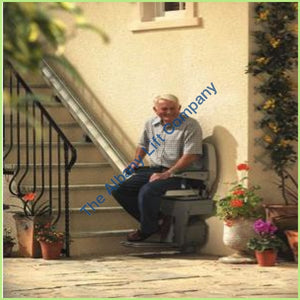 Sterling 1000 Outdoor Straight Stairlift