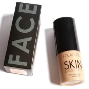"Focallure™ ""Skin Evolution"" fluid foundation Make Up"