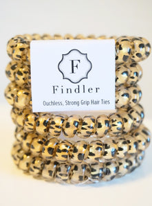 Leopard Print Hair Ties - Olive Vines Boutique
