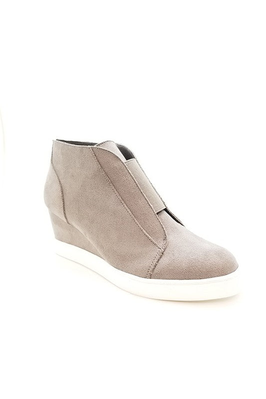 Ankle High Sneakers - Olive Vines Boutique