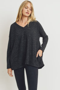 Lasting Memories Sweater Top - Olive Vines Boutique