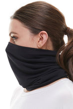Load image into Gallery viewer, Black Neck Gaiter Face Mask - Olive Vines Boutique