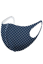 Load image into Gallery viewer, Polka Dot Print Face Mask - Olive Vines Boutique