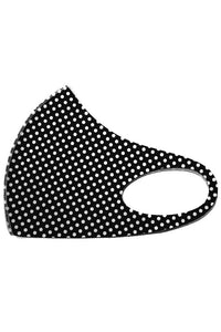 Polka Dot Print Face Mask - Olive Vines Boutique