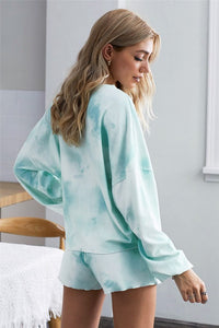 Dreaming of Tie Dye Pajama Set - Olive Vines Boutique