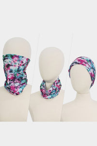 Abstract Pattern Multi Use Face Covering - Olive Vines Boutique