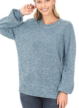 Load image into Gallery viewer, Sweet Simplicity Sweater - Olive Vines Boutique