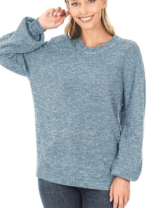 Sweet Simplicity Sweater - Olive Vines Boutique