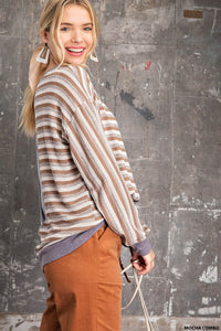 Autumn Dreams Sweater Top - Olive Vines Boutique