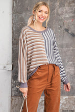Load image into Gallery viewer, Autumn Dreams Sweater Top - Olive Vines Boutique
