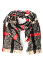 Load image into Gallery viewer, Classy Chic Plaid Scarf - Olive Vines Boutique