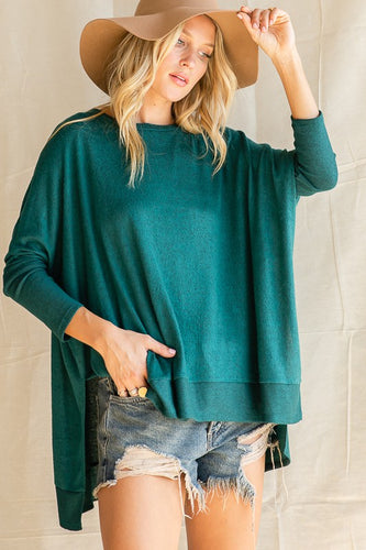 Claire Cashmere Top - Olive Vines Boutique