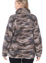 Load image into Gallery viewer, Southern Girl Camo Sherpa - Olive Vines Boutique