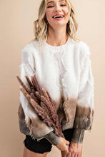 Load image into Gallery viewer, Rustic Chic Sweater - Olive Vines Boutique