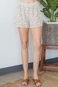 Here I Am Shorts - Olive Vines Boutique