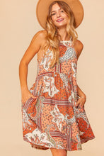 Load image into Gallery viewer, Dreamer Halter Dress - Olive Vines Boutique