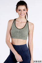 Load image into Gallery viewer, Triple Strap Sports Bra - Olive Vines Boutique