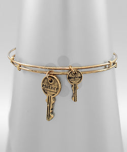 Mother & Daughter Key Bracelet - Olive Vines Boutique