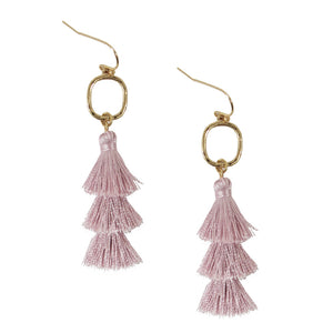 Small Tier Tassel Earrings - Olive Vines Boutique