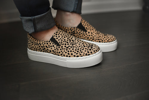 Cheetah Sneakers - Olive Vines Boutique