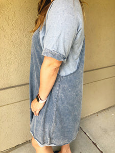 Around Town Dress - Olive Vines Boutique