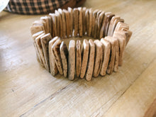 Load image into Gallery viewer, Rectangle Wood Bracelet - Olive Vines Boutique