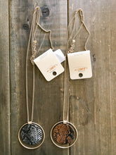 Load image into Gallery viewer, Faux Animal Print Pendant Necklace - Olive Vines Boutique