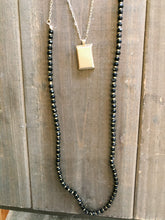 Load image into Gallery viewer, Two Layer Crystal and Gold Necklace - Olive Vines Boutique