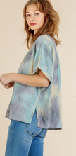 Load image into Gallery viewer, Tropical Paradise Tie Dye Top - Olive Vines Boutique