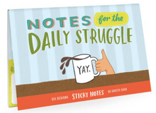 Load image into Gallery viewer, Daily Struggle Sticky Note Packet - Olive Vines Boutique