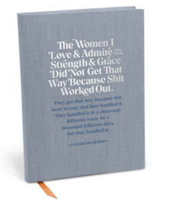 The Women I Love and Admire Journal - Olive Vines Boutique
