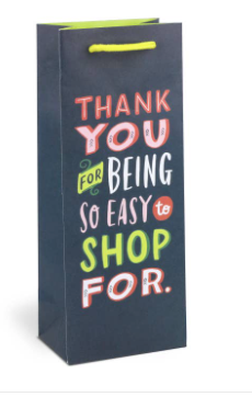 Easy to Shop Wine Bag - Olive Vines Boutique
