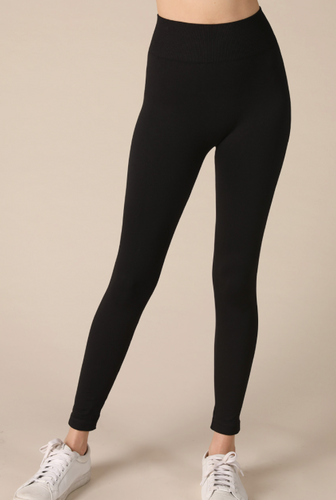 Solid Signature Leggings - Olive Vines Boutique