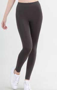 Signature Style Ankle Length Leggings ~ Black & Charcoal - Olive Vines Boutique