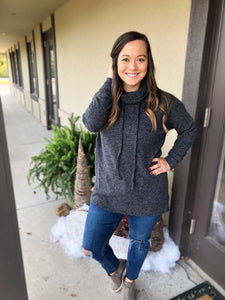 A Girls Dream Tunic Sweater - RESTOCKED! - Olive Vines Boutique
