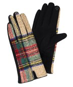 Load image into Gallery viewer, Plaid Gloves - Olive Vines Boutique