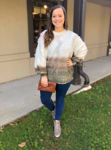 Rustic Chic Sweater - Olive Vines Boutique