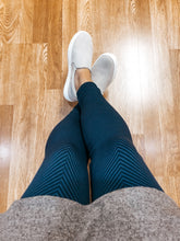 Load image into Gallery viewer, Striped Leggings - Olive Vines Boutique