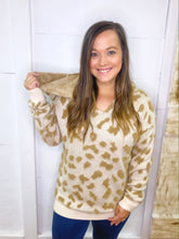 Load image into Gallery viewer, Cuddle Me Hooded Sweater - Olive Vines Boutique