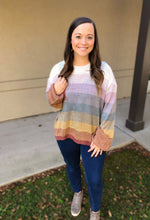 Load image into Gallery viewer, Walking On Sunshine Sweater - Olive Vines Boutique