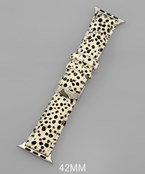 Load image into Gallery viewer, 42mm Cheetah Smartwatch Band - Olive Vines Boutique