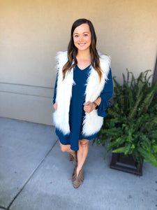 Classic & Cozy Vest - Olive Vines Boutique