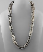 Acrylic Chain Necklace - Olive Vines Boutique