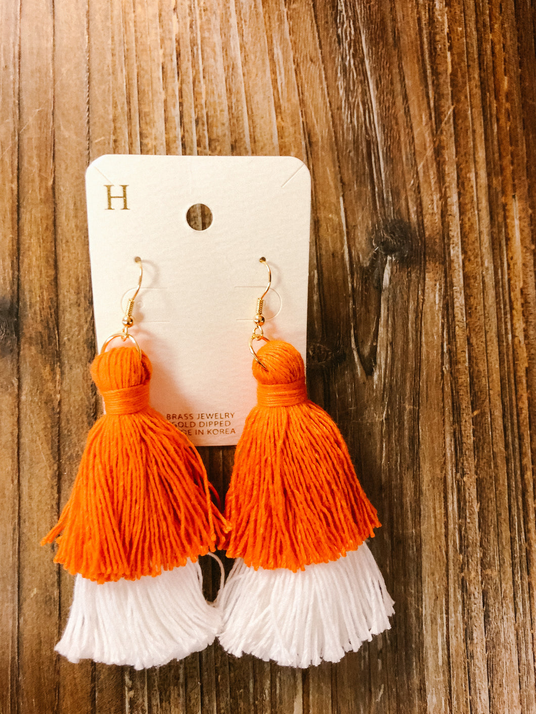 Game Day Layered Tassel Earrings - Olive Vines Boutique