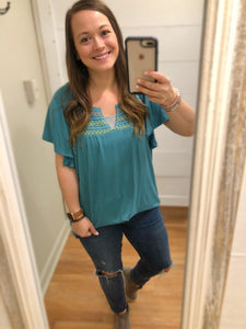 So Much Joy Tunic Top - Olive Vines Boutique